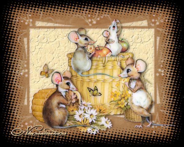 Les petites souris gourmandes